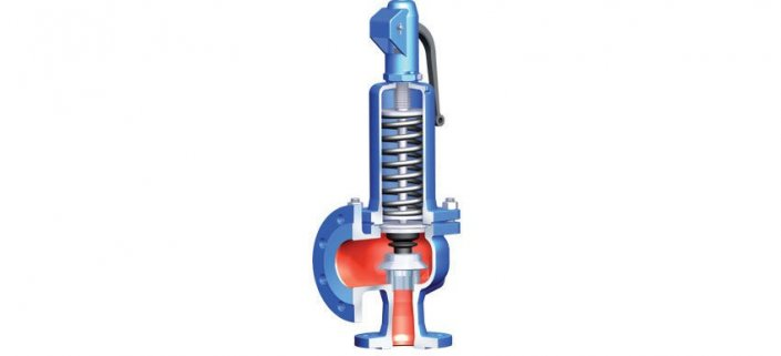 Safety relief valve steam_for heating facilities use steam