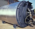 Oil fred thermal oil heater