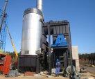 Waste heat boiler for heat transfer