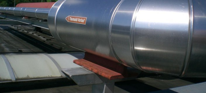 Heat transfer fluids, thermal fluids and lubricants for industrial applications